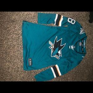 San Jose sports jersey